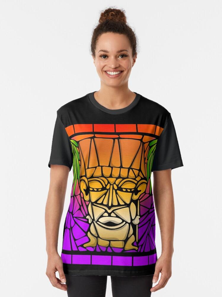 Alternate view of Twilight Tiki Graphic T-Shirt