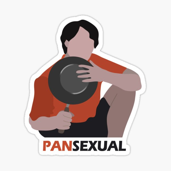 Pansexual Uncle Roger Sticker