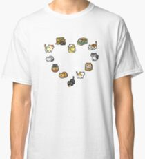 Neko Atsume - Heart Classic T-Shirt