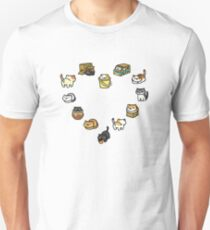 Neko Atsume - Heart T-Shirt