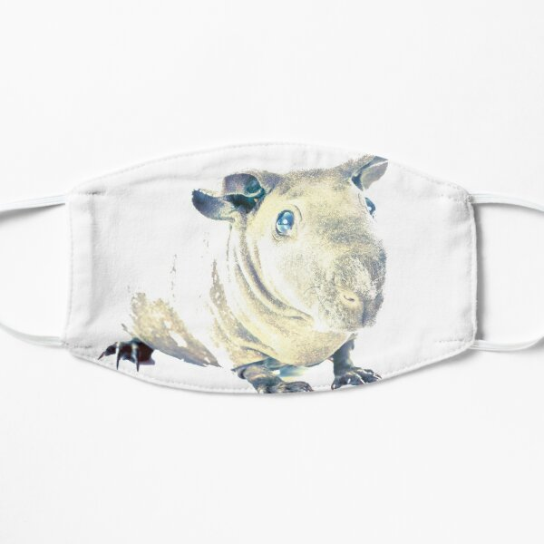 Skinny Pig Flat Mask