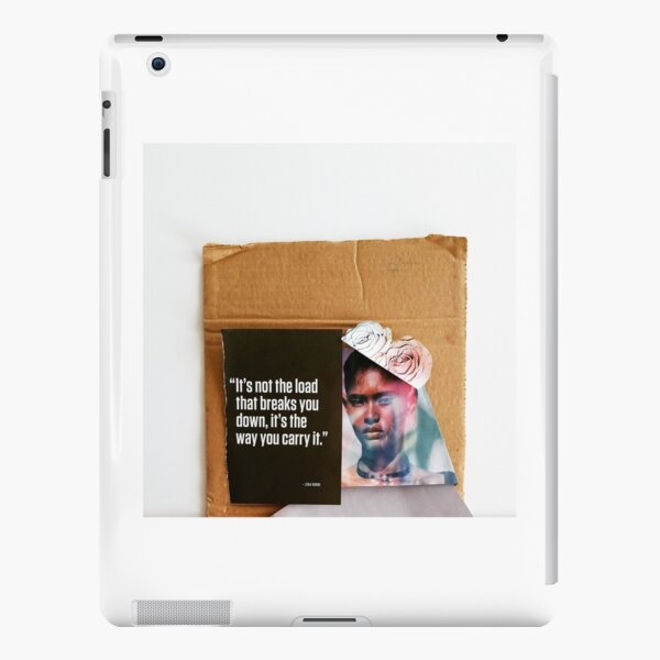"""""""The Load You Carry""""  iPad Snap Case"""
