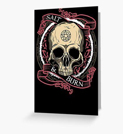 Salt & Burn Greeting Card