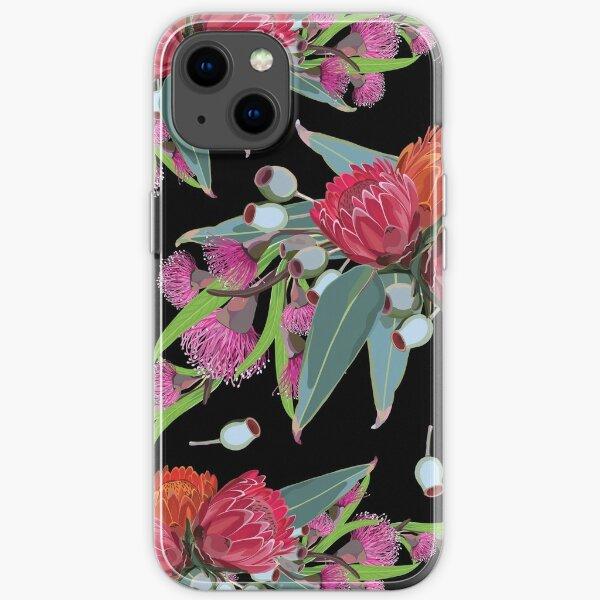 Protea & Eucalyptus Pattern iPhone Soft Case