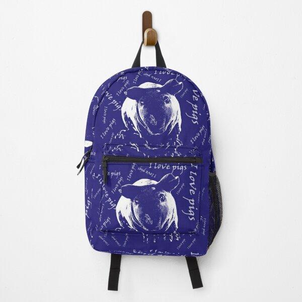 I love pigs Backpack