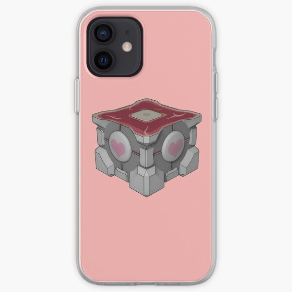 Weighted Companion Cube Meat iPhone Soft Case