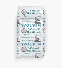 Werewolf Bar Mitzvah Duvet Cover