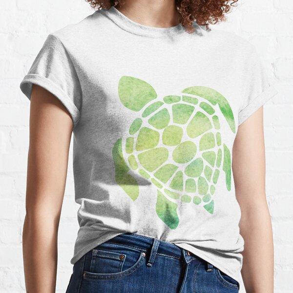 Watercolor Sea Turtle Classic T-Shirt