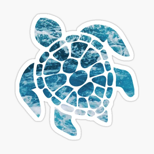 Ocean Sea Turtle Sticker