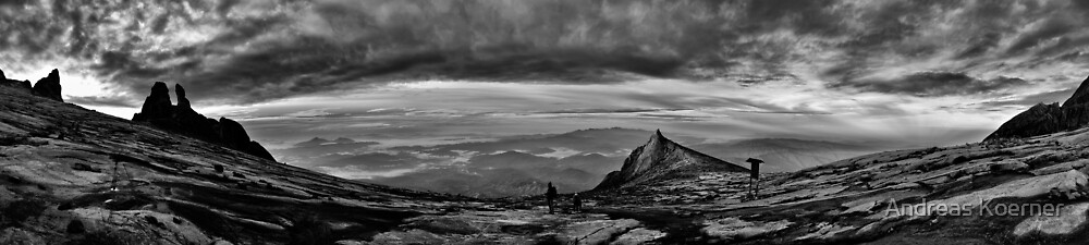 """Wide Wild Borneo"" (B&W) by Andreas Koerner"