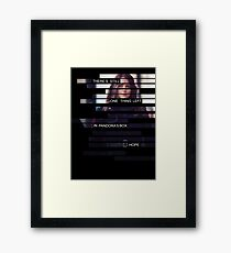 Root - Person of Interes - Quote Framed Print