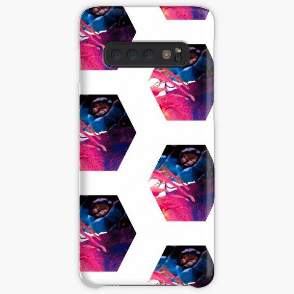 Abstract hexagon (blue/pink/purple) Samsung Galaxy Snap Case