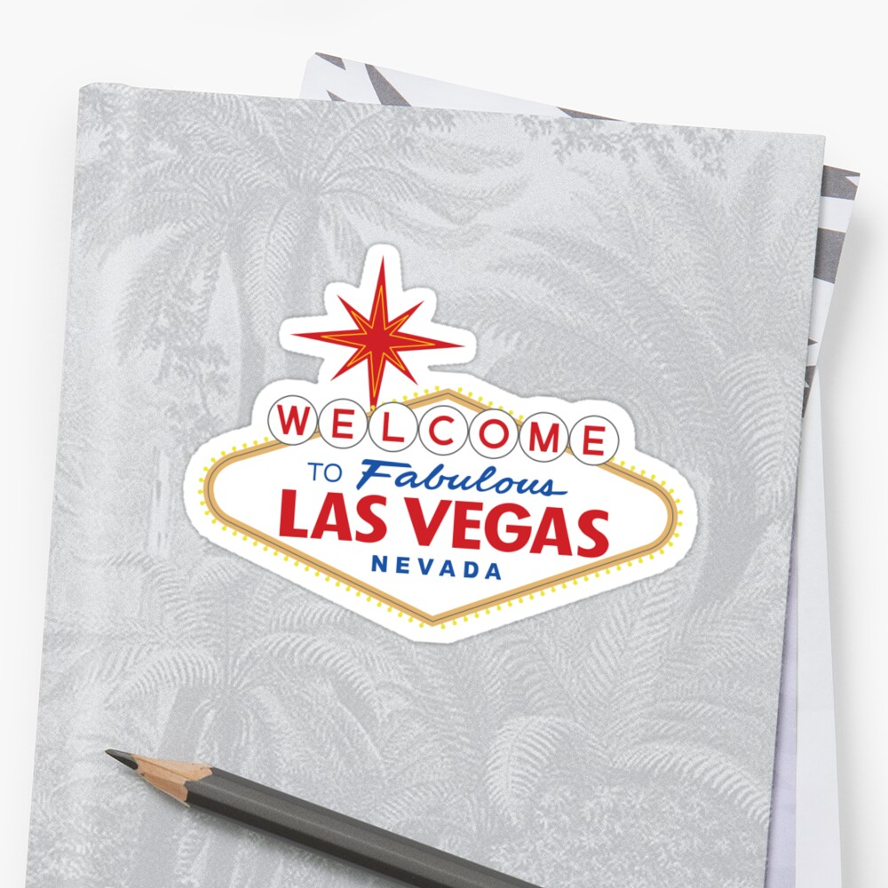 Welcome to Fabulous Las Vegas Sign by worldofsigns