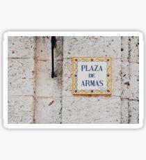 Plaza de Armas (Havana) Sticker