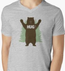 Bear Hug (Reworked) Men's V-Neck T-Shirt