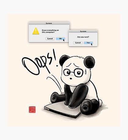 IT Panda Photographic Print
