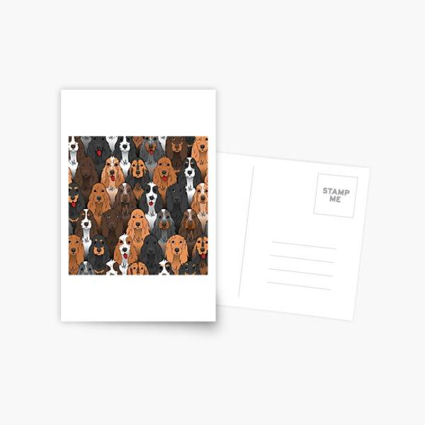 Working Cocker Spaniel  Postcard