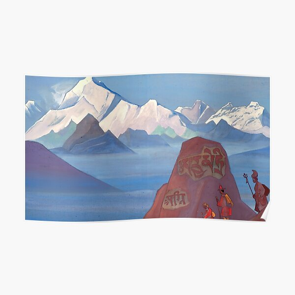 Nicholas Roerich - The Way to Kailash Poster