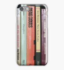 Joy Division Bookshelf iPhone Case/Skin