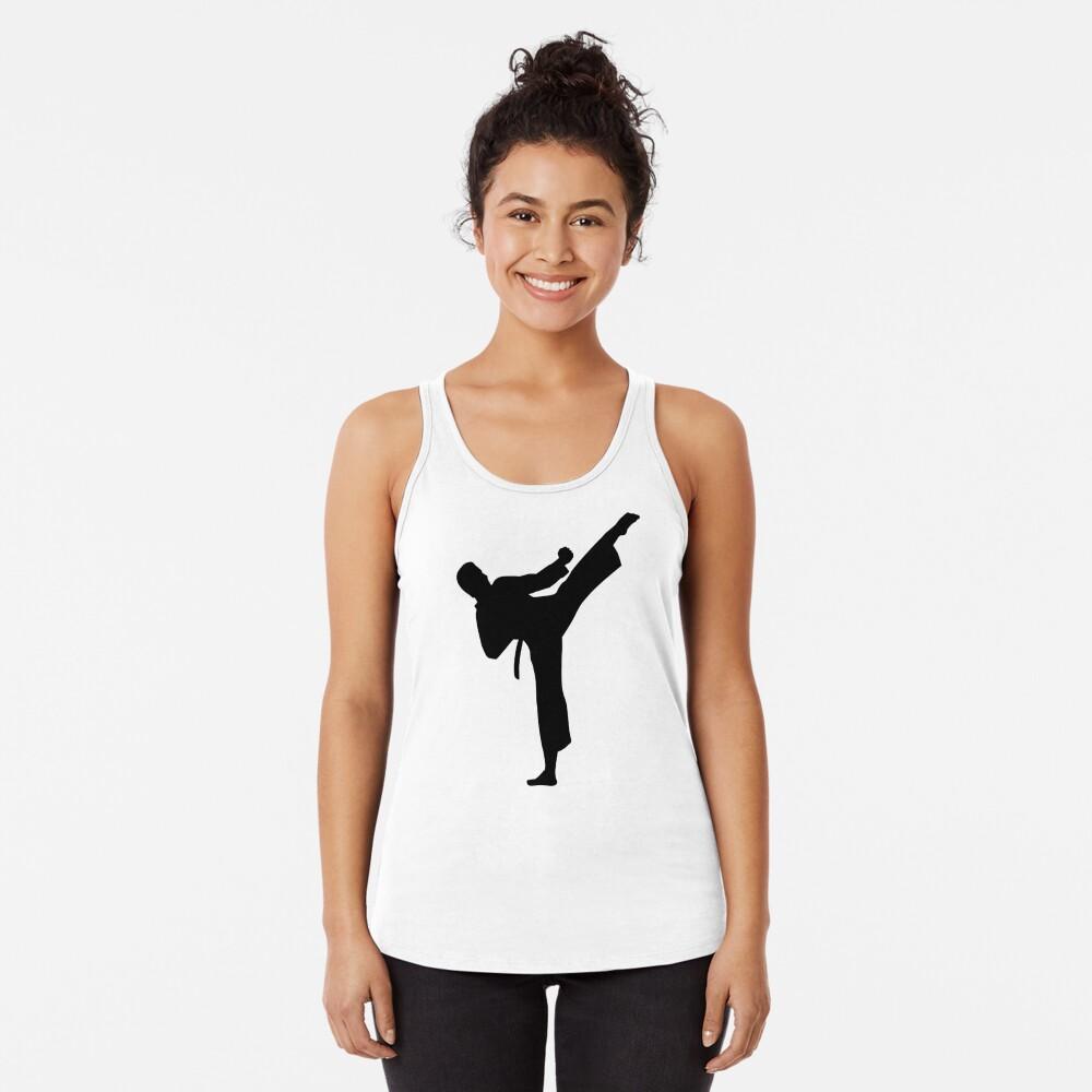Kárate Camiseta con espalda nadadora