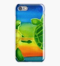 Fire Play Terrapin Turtles iPhone Case/Skin