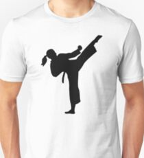 Karate girl woman Unisex T-Shirt