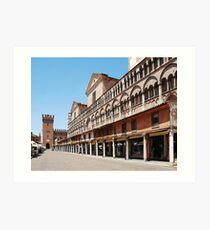 Piazza Trento e Trieste Art Print