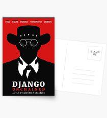 Postales Cartel de la película Django Unchained
