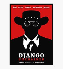 Django Unchained film poster Photographic Print