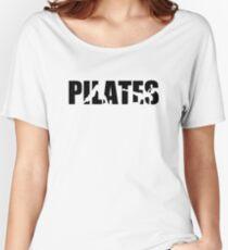 Camiseta ancha para mujer Pilates