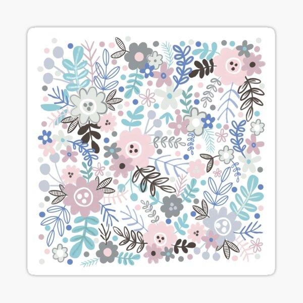 The Pastel Garden  Sticker
