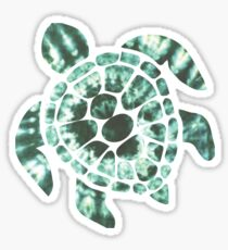 Tie Dye Sea Turtle 2 Sticker