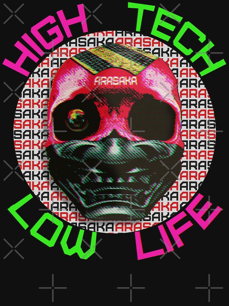 Cyberpunk Arasaka Skull - Parody advertisement by RabbitLair