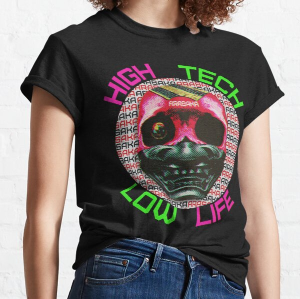 Cyberpunk Arasaka Skull - Parody advertisement Classic T-Shirt