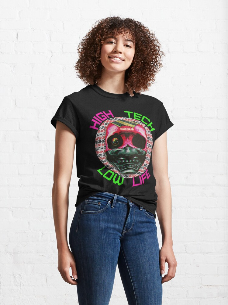 Alternate view of Cyberpunk Arasaka Skull - Parody advertisement Classic T-Shirt