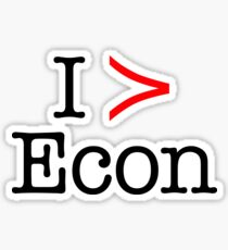 I Significantly Prefer Econ Sticker