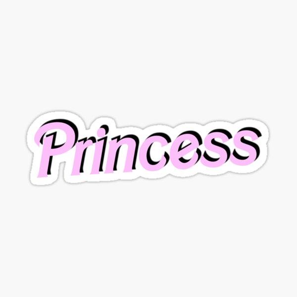 Princesa Pegatina