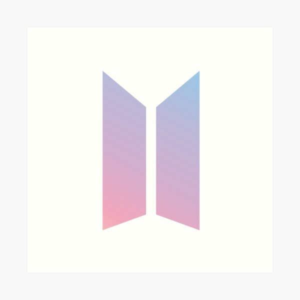 Logo BTS Lámina artística