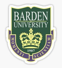 Barden University Sticker