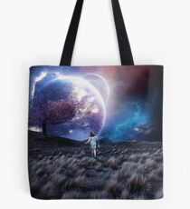 Lost in a space that isn't there Tote Bag