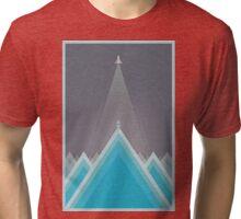 Space Man Blue  Tri-blend T-Shirt