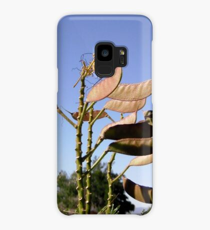 Seed Pods from Bird of Paradise bush Case/Skin for Samsung Galaxy