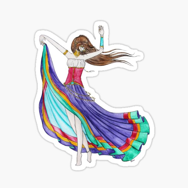 The Bohemian Sticker