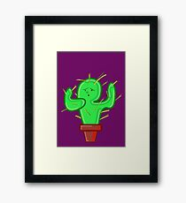 CACTI CHRIS Framed Print