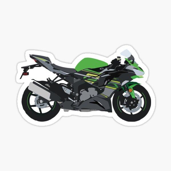 Motorcycle Kawasaki Ninja ZX-6R Sticker