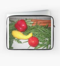 Tomato Squash and Green Beans Laptop Sleeve