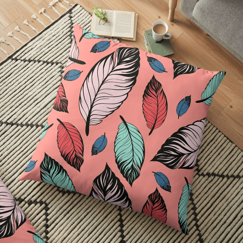 Candy Daydreams Floor Pillow