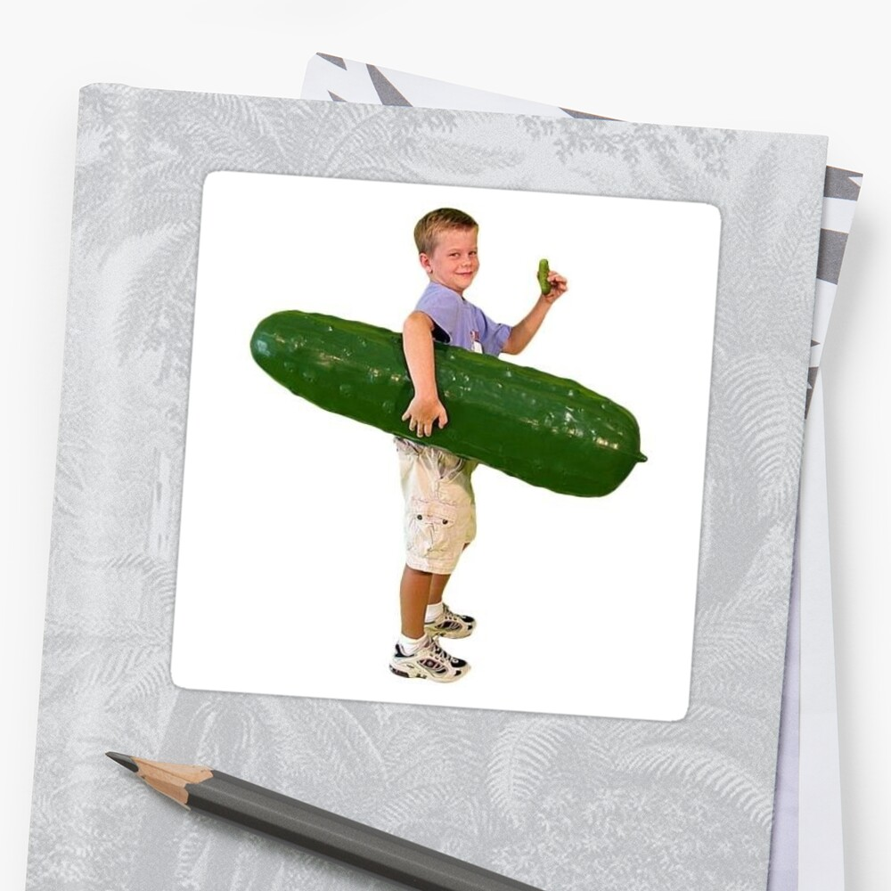 Pickle Boy Sticker By Jakc17
