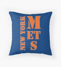 New York Mets Typo Throw Pillow