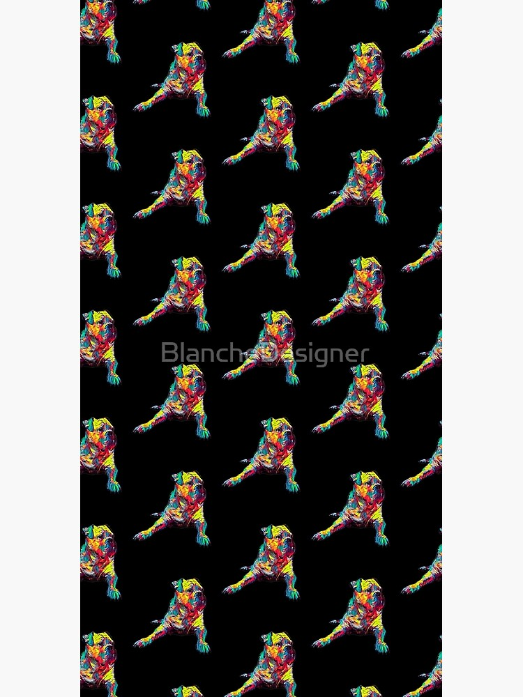 American Bulldog Dog Funny Gift Lover by BlancheDesigner
